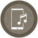 Mobile Music Note Icon