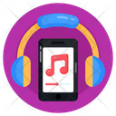 Mobile Music App Icon