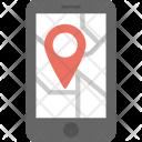 Mobile Navigation Gps Icon