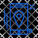 Navigation Mobile Location Icon