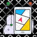 Mobile Navigation Navigation App Gps Navigator Icon