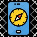 Compass Smartphone Gps Icon