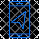 Mobile Arrow Smart Icon