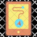 Mtab Gps Navigation Mobile Navigation Mobile Route Icon