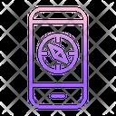 Mcompass Mobile Navigation Mobile Navigation Phone Navigation Icon
