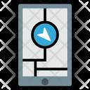 Mobile Navigation Gps Location Icon