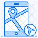 Mobile Navigation Mobile Location Mobile Gps Icon