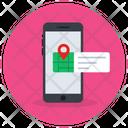 Mobile Navigation Location Application Gps Icon