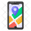 Phone Location Mobile Navigation Mobile Location Icon