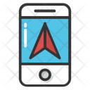 Mobile Navigation App Icon