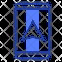 Navigator Mobile Geolocation Icon