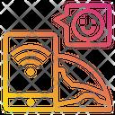 World Smartphone Chat Icon