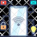 Mobile Network Hotspot Mobile Wifi Icon