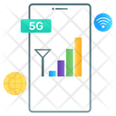 Internet Connection Mobile Network 5 G Network Icon