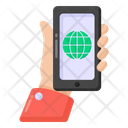Global Mobile Mobile Network Phone Network Icon