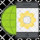 Mobile Network Setting Mobile Configuration Mobile Development Icon