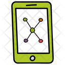 Phone Connectivity Mobile Networking Mobile Connections Icon