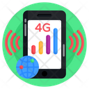 Phone Networking Mobile Networking Mobile Signals Icon