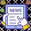 Mobile News Journals Magazine Icon
