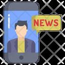 Mobile News Icon