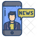 Mobile Journalist Icon