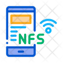 Smartphone Nfc Technology Icon