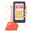 Near Field Communication Mobile Nfc Phone Nfc Icon