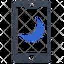 Mobile Night Mode Icon