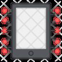 Mobile Nodes Phone Nodes Smartphone Nodes Icon