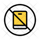 Mobile Not Allowed Mobile Stop Icon