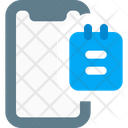 Mobile Note Icon