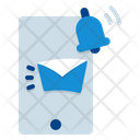 Mobile Notification Alert Email Icon