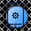 Mobile Seo Optimization Icon