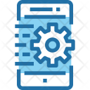 Process Mobile Setting Icon