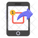 Phone Outbox Mobile Outbox Smartphone Outbox Icon