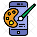 Mobile Painting Icon