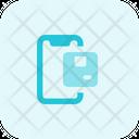 Mobile Parcel Icon