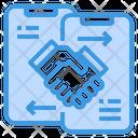 Handshake Deal Smartphone Icon