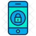 Lock Mobile Secure Mobile Protected Mobile Icon