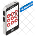 Mobile Password Mobile Lock Mobile Security Icon