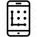 Pattern Mobile Phone Icon