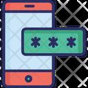 Mobile Password Icon