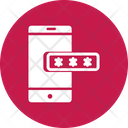 Mobile Password Account Authorization Login Password Icon