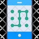 Mobile Patternv Mobile Pattern Mobile Password Icon