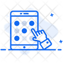Mobile Pattern Pattern Lock Mobile Security Icon