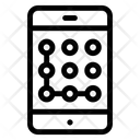 Mobile Pattern Security Pattern Phone Pattern Icon