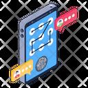 Phone Lock Pattern Lock Mobile Pattern Lock Icon
