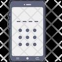 Mobile Pattern Lock Pattern Lock Security Lock Icon