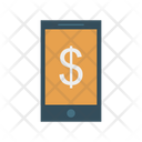 Mobile Pay Online Phone Icon
