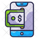 Mobile Payment Pay Money Icon